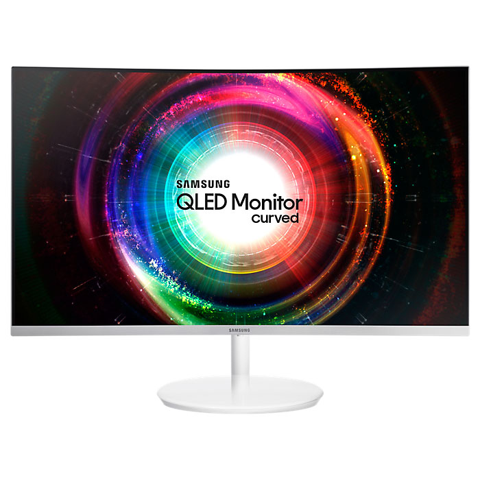 Монитор ЖК Samsung C27H711QEI 27″ White HDMI, Mini DisplayPort