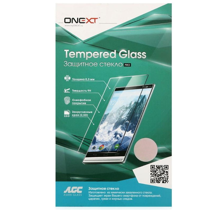 Защитное стекло Onext для Samsung G935F Galaxy S7 edge, серебристая рамка