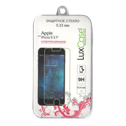 Защитное стекло LuxCase 0,3мм для iPhone 7 / iPhone 6s / iPhone 6