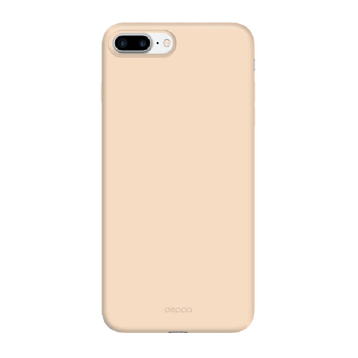 Чехол Deppa Air Case с пленкой для iPhone 7 Plus золотистый