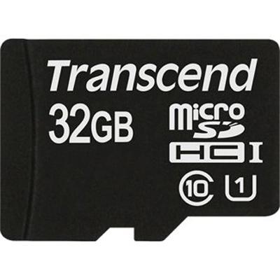 Флеш-карта microSDHC 32Гб Transcend , UHS-I Class 10 ( TS32GUSDU1  )