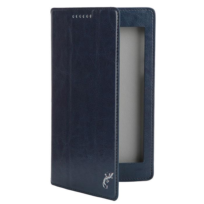 Чехол для Lenovo IdeaTab 2 A7-30, G-case Executive, эко кожа, тёмно-синий