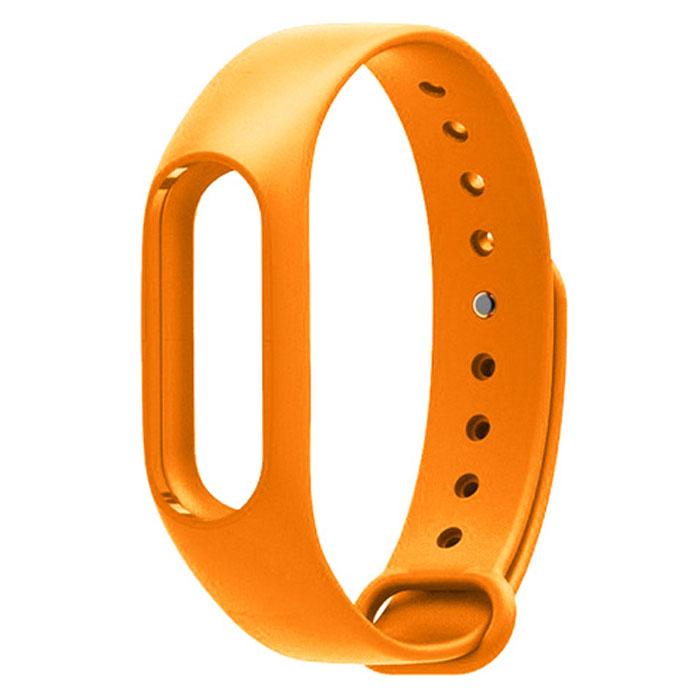 Ремешок для фитнес-браслета Xiaomi Mi Band 2, оранжевый