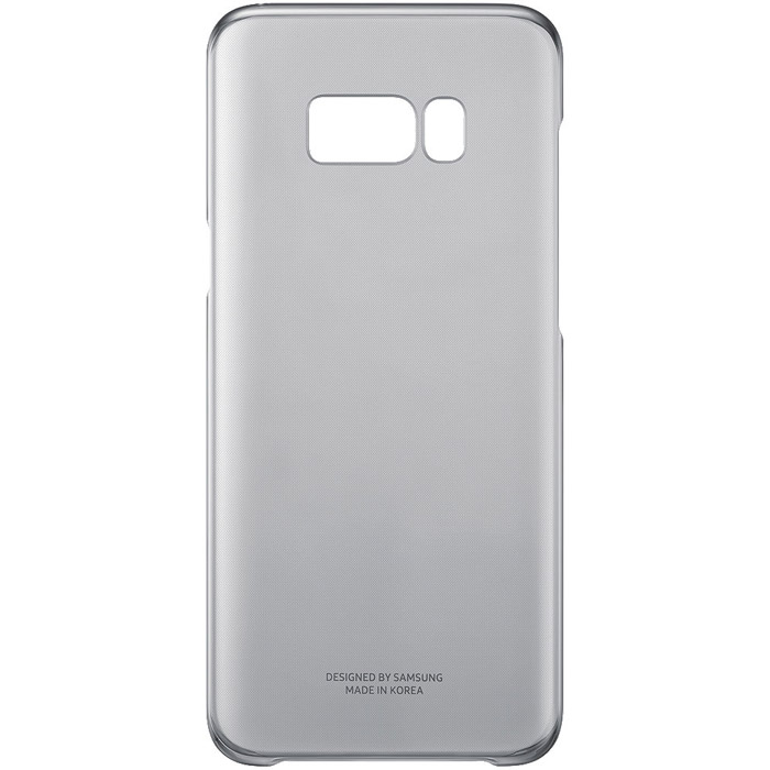 Чехол Samsung Alcantara Clear для Samsung Galaxy S8+ SM-G955, черный