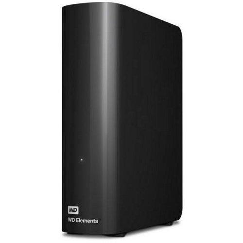Внешний жесткий диск USB 3.5″ 4.0Тб WD Elements Desktop ( WDBWLG0040HBK-EESN ) Черный