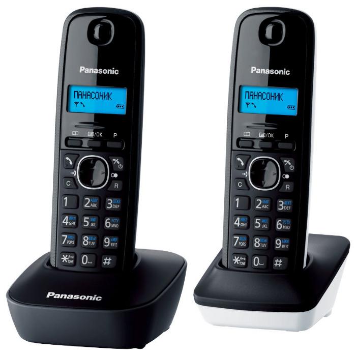 Телефон Dect Panasonic KX-TG1612RU-1