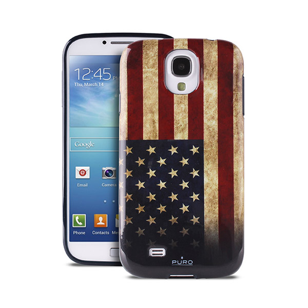 Чехол для Samsung Galaxy S4 i9500/i9505 PURO USA flag