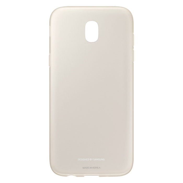 Чехол Samsung Jelly Cover для Galaxy J5 (2017) SM-J530FM, золотистый