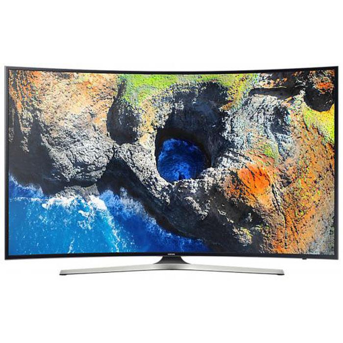 Телевизор ЖК 55″ Samsung UE55MU6300UX черный/серый