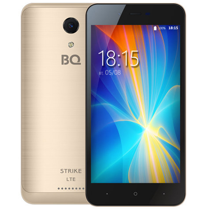 Смартфон BQ Mobile BQ-5044 Strike LTE Gold