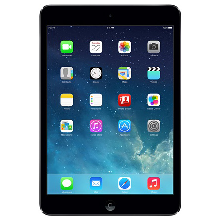"Планшетный компьютер 7.9"" Apple iPad mini 2 A7, 32Гб Flash, Wi-Fi, iOS черный ( ME277RU/A )"