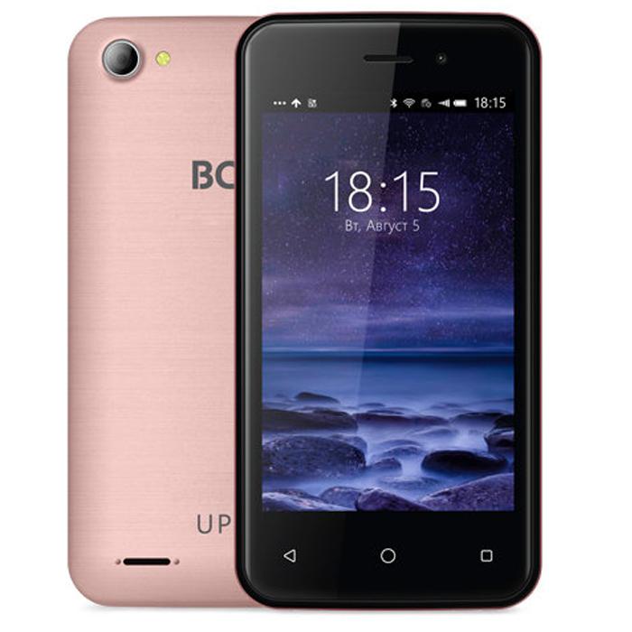 Смартфон BQ Mobile BQ-4026 UP! Rose Gold