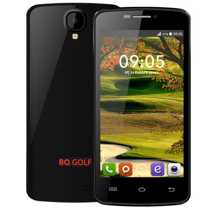 Смартфон BQ Mobile BQS-4560 Golf Black