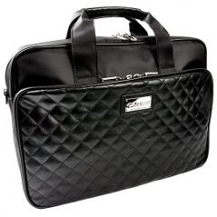 Сумка для ноутбука 14″ Krusell KS-71224, черная, эко-кожа