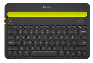 Клавиатура Logitech Wireless Bluetooth Multi-Device Keyboard K480 USB Black ( 920-006368)