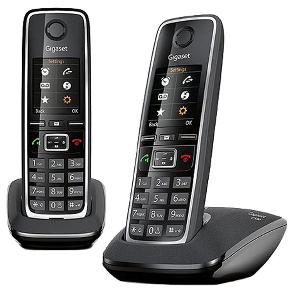 Телефон Siemens Dect Gigaset C530 DUO Black