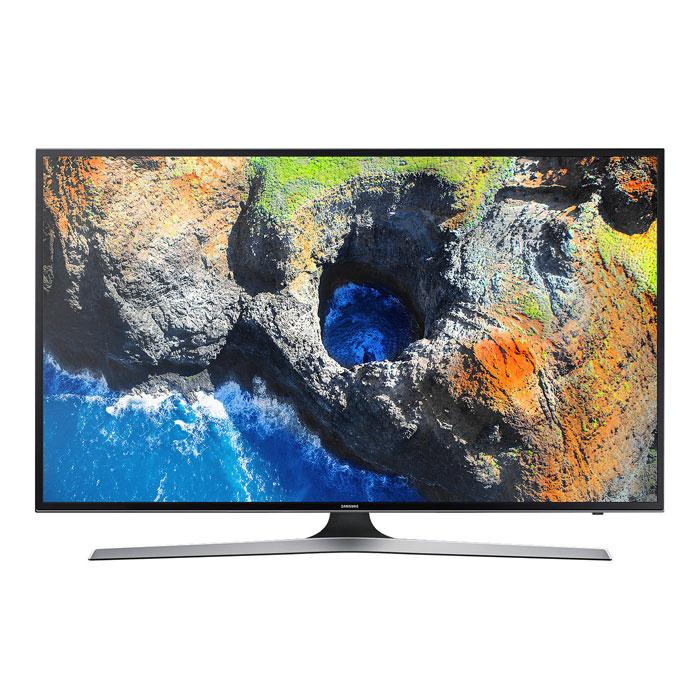 Телевизор ЖК 43″ Samsung UE43MU6100UX черный/серый