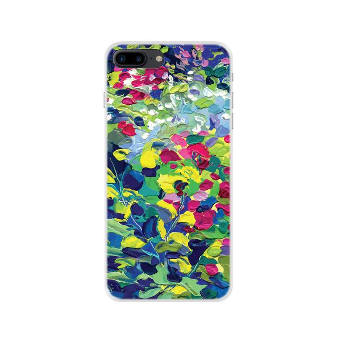 Чехол Deppa Art Case с пленкой для iPhone 7 Plus, Art, Листья