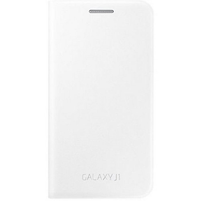 Чехол Samsung Flip Cover для Galaxy J1 mini (2016) SM-J105H, белый