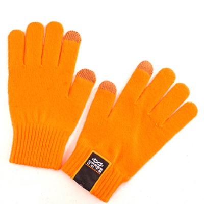 Перчатки для мобильных устройств Dress Cote Touchers, цвет оранжевый, размер S