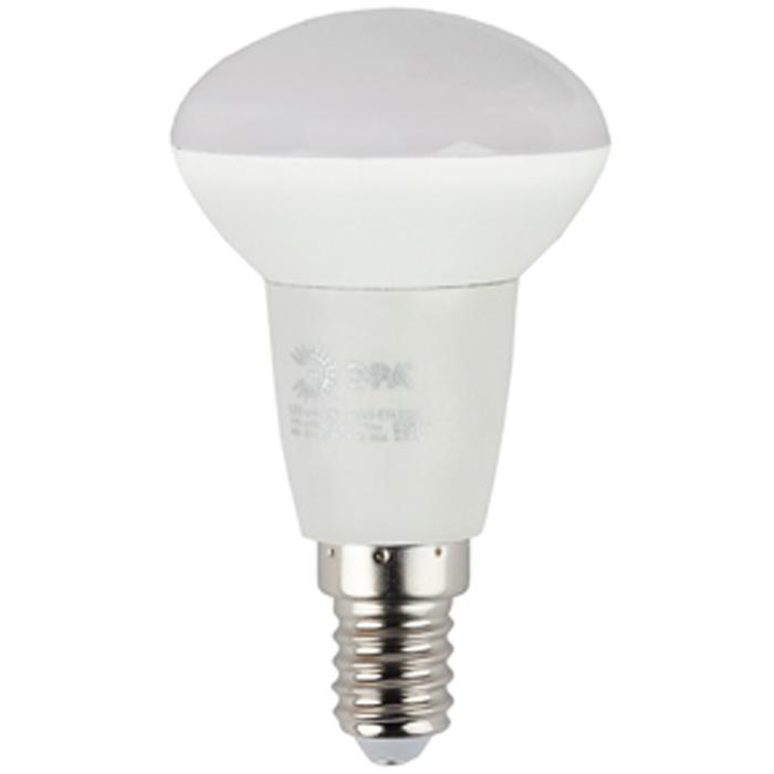 Светодиодная лампа ЭРА R50 E14 6W 220V ECO желтый свет