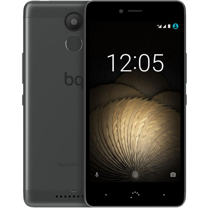 Смартфон BQ Aquaris U Plus 16Gb 2GB RAM Black/Grey