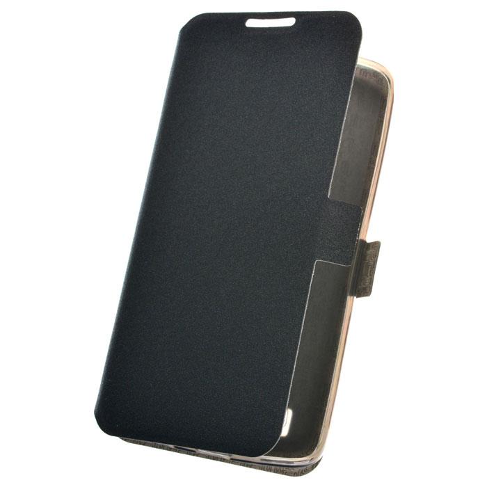 Чехол PRIME book для LG K8 K350E, черный