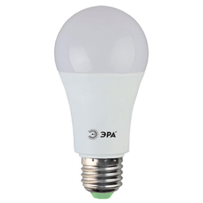 Светодиодная лампа ЭРА A60 E27 15W 220V желтый свет