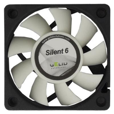 Вентилятор 060мм Gelid Silent 6 3200 об/мин ( FN-SX06-32 )