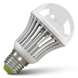 Светодиодная LED лампа X-flash Bulb E27 7W 220V желтый свет, диммируемая