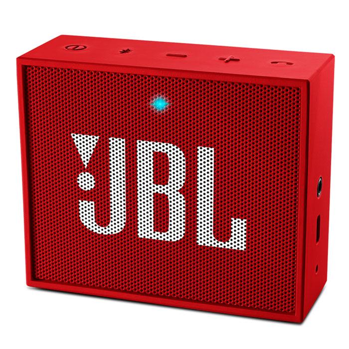 Акустическая система JBL Go, красная