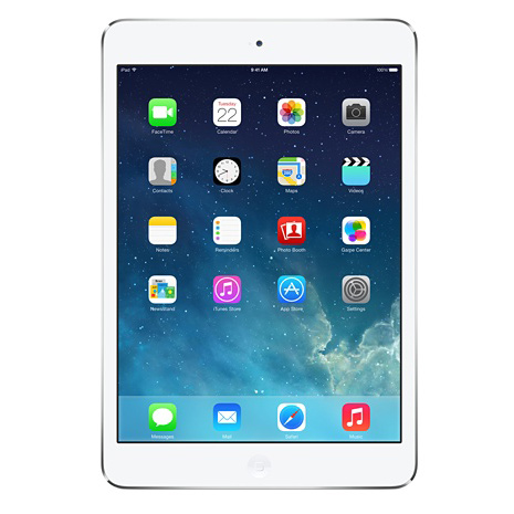 "Планшетный компьютер 7.9"" Apple iPad mini 2 A7, 32Гб Flash, Wi-Fi + Cellular, GPS, iOS белый ( ME824RU/A )"