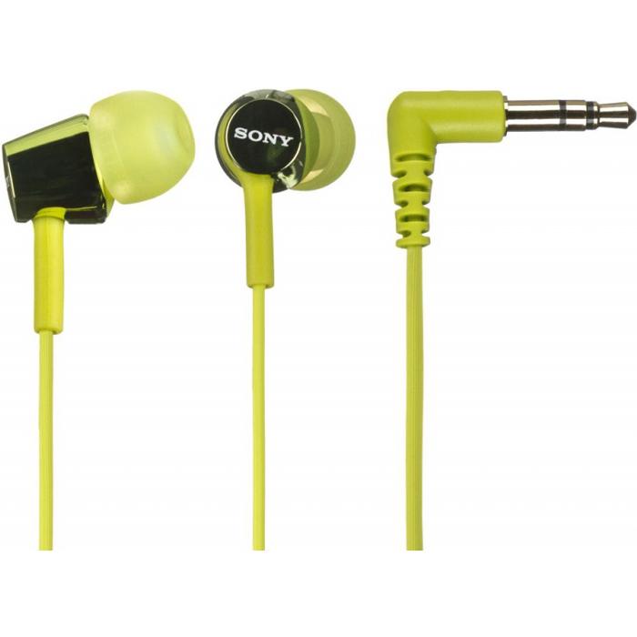 Наушники Sony MDR-EX150 Green