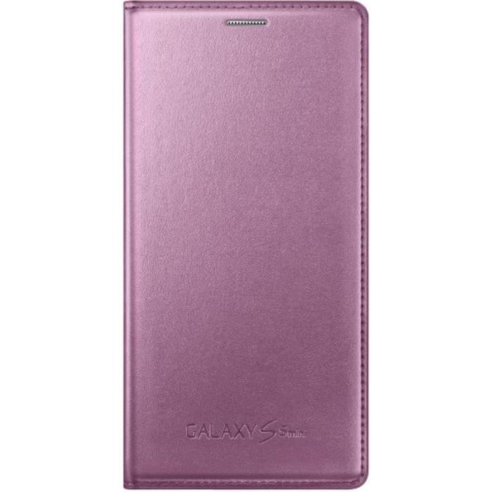 Чехол Samsung Flip Cover для Galaxy S5 mini G800F\G800H, розовый