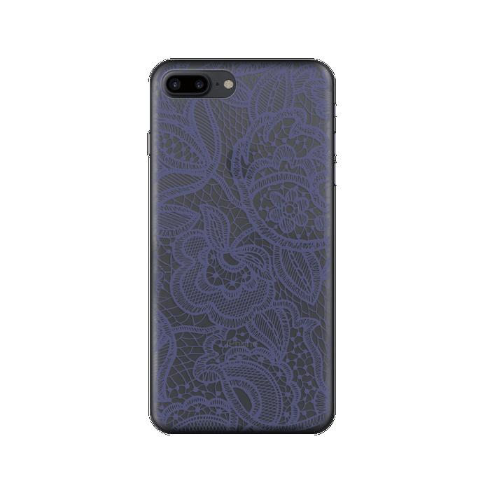 Чехол Deppa Art Case с пленкой для iPhone 7 Plus, Boho, Кружево темное