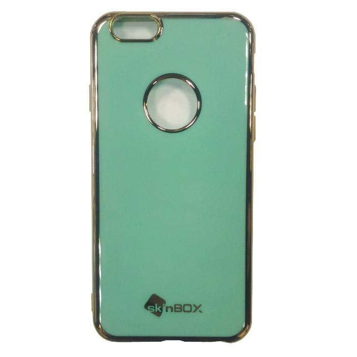 Чехол SkinBox, Силиконовая накладка для iPhone 6 / iPhone 6s, мятный