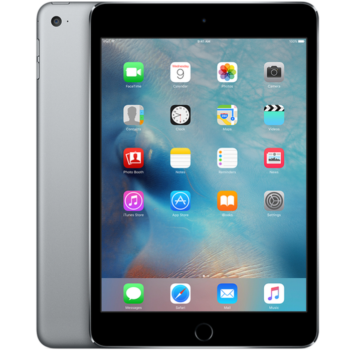 "Планшетный компьютер 7.9"" Apple iPad mini 4, 128Гб Flash, WiFi, Space Gray (MK9N2RU/A)"