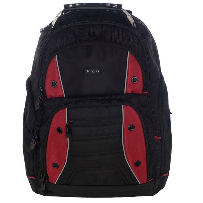 Рюкзак для ноутбука 16″ Targus TSB23803EU-70, черный/красный, нейлоновый