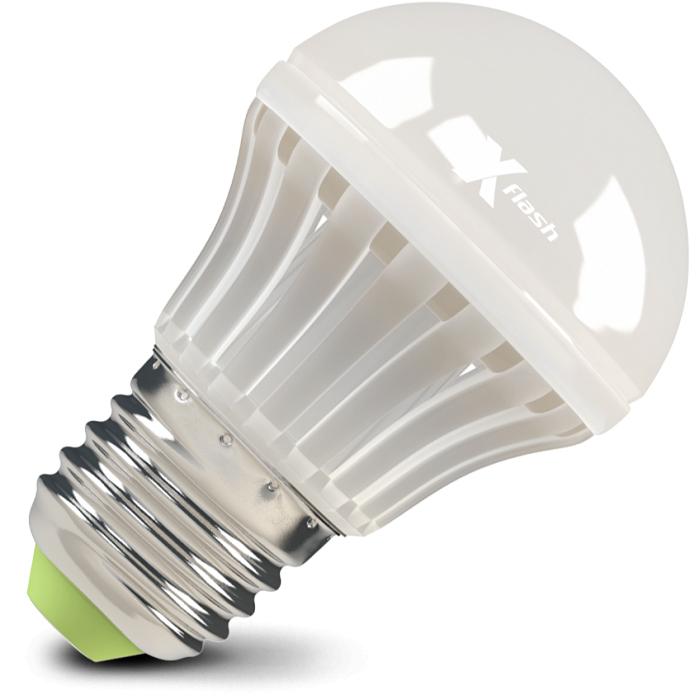 Светодиодная LED лампа X-flash Bulb E27 7W 220V желтый свет