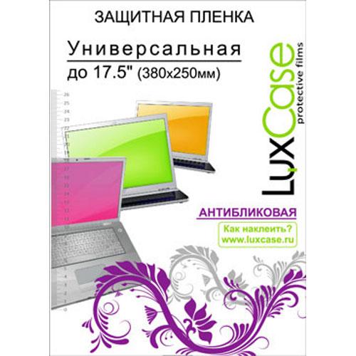 Защитная плёнка универсальная до 17,5″ Luxcase Антибликовая