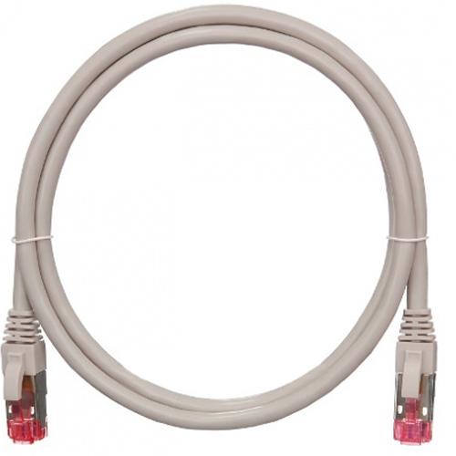 Патч-корд UTP 1.0м категория 6a S/FTP Nikomax