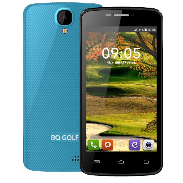 Смартфон BQ Mobile BQS-4560 Golf Blue