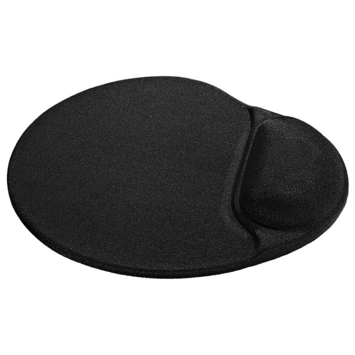 Коврик для мыши Defender Easy Work, black гелевый