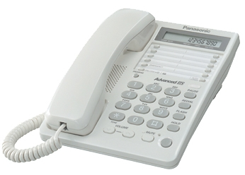 Телефон PANASONIC KX-TS2362RUW, белый