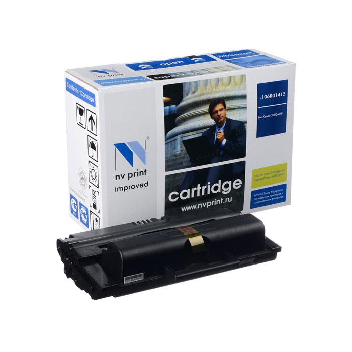 Картридж NV-Print NVP-106R01412 для Xerox Phaser 3300MFP (8000стр)