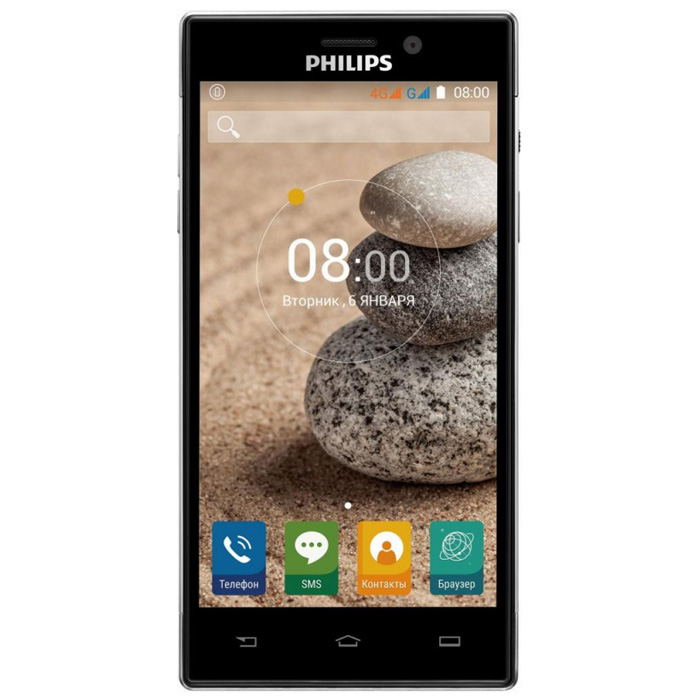 Смартфон Philips Xenium V787 Black