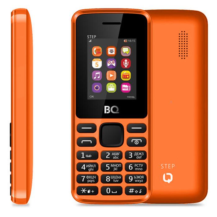 Сотовый телефон BQ Mobile BQM-1830 Step Orange