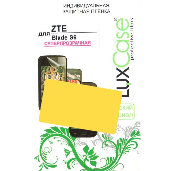 Защитная плёнка LuxCase для ZTE Blade S6, суперпрозрачная