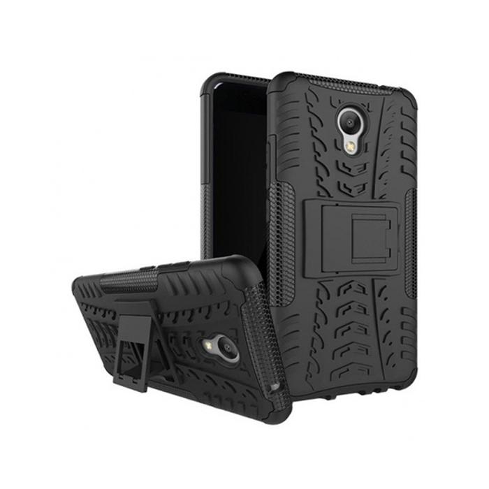 Чехол skinBOX Defender case для Meizu M5 Note, черный