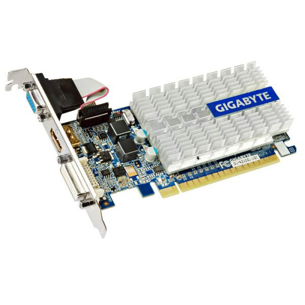 Видеокарта PCI-E GIGABYTE GeForce GT 210 1024Mb, DDR3 ( GV-N210SL-1GI )